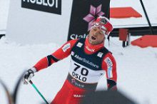 En sliten Martin Johnsrud Sundby kommer muligens til å vinne færre konkurranser mot slutten av sesongen. Bilde: Oskar Karlin