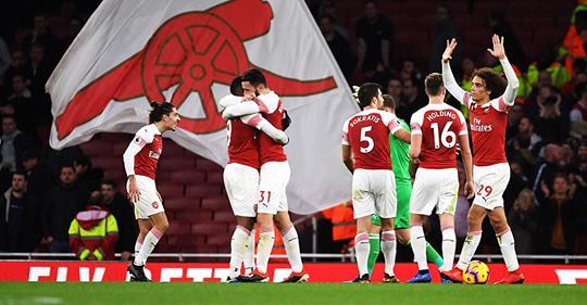 Bildet er tatt fra Arsenal Facebook siden